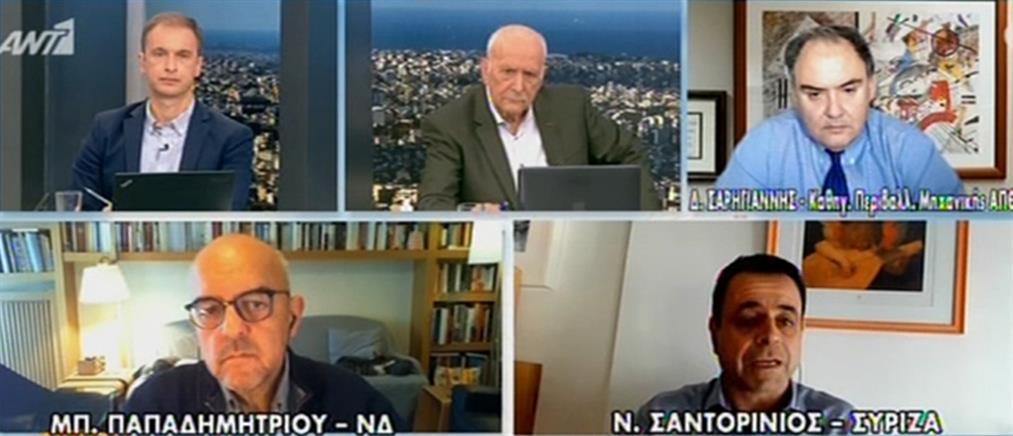 Σαρηγιάννης στον ΑΝΤ1: πρόωρο το άνοιγμα της εστίασης (βίντεο)