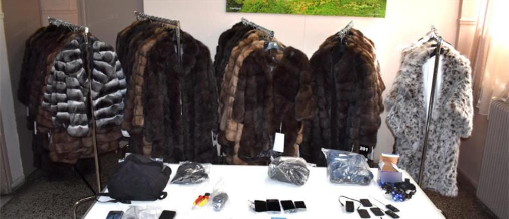Καστοριά: Έκλεψαν γούνες από επιχείρηση (εικόνες)