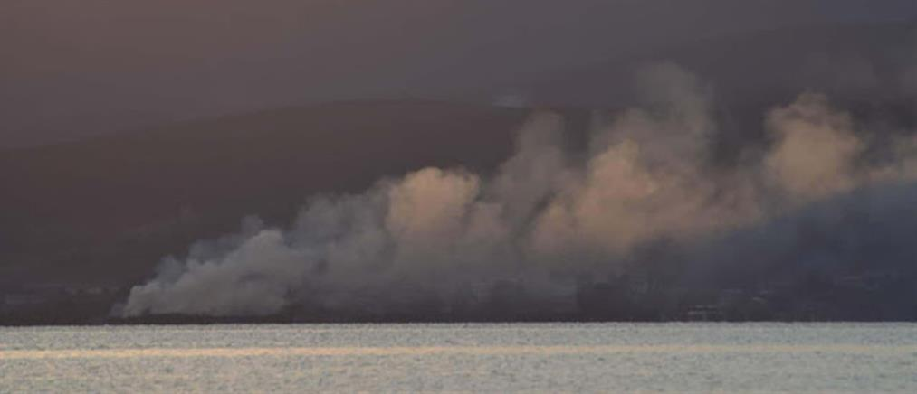 Φωτιά στους Μύλους Αργολίδας (εικόνες)