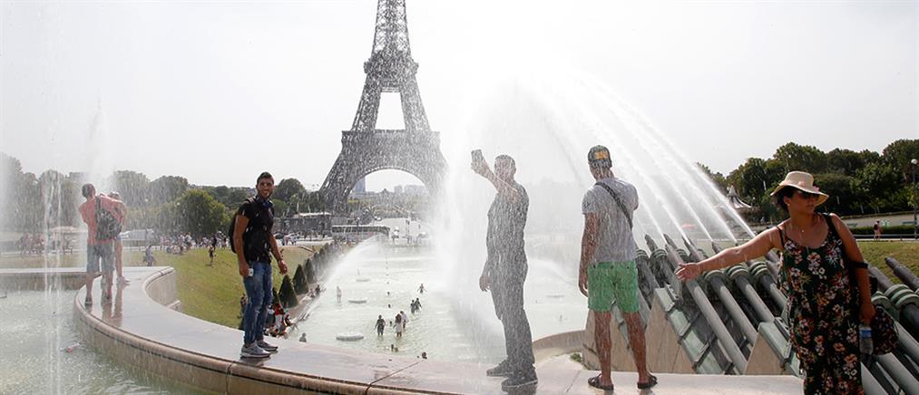 """Θερμοκρασίες ρεκόρ """"ψήνουν"""" τη Γαλλία"""