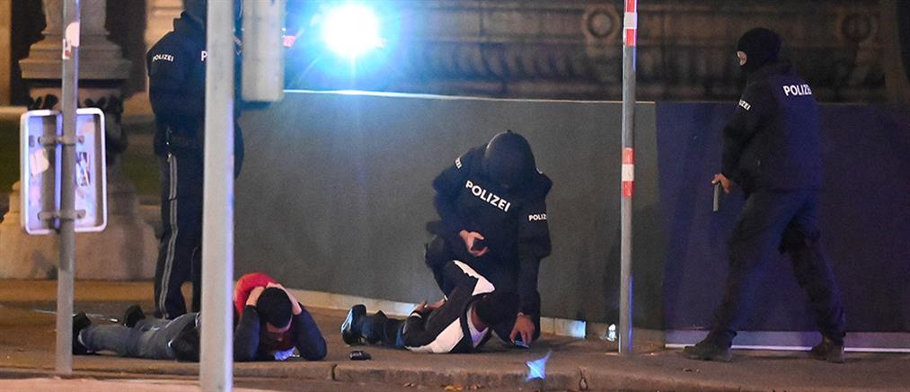 """Επίθεση στη Βιέννη: """"Βροχή"""" πυροβολισμών και ολονύχτιος τρόμος (εικόνες)"""