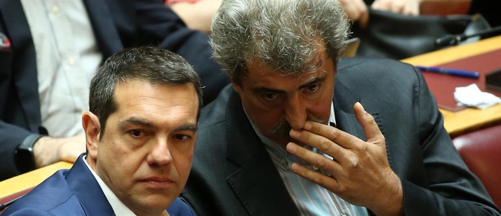 """Προανακριτική: ο Τσίπρας """"ρίχνει το γάντι"""" στον Τασούλα για Πολάκη – Τζανακόπουλο"""