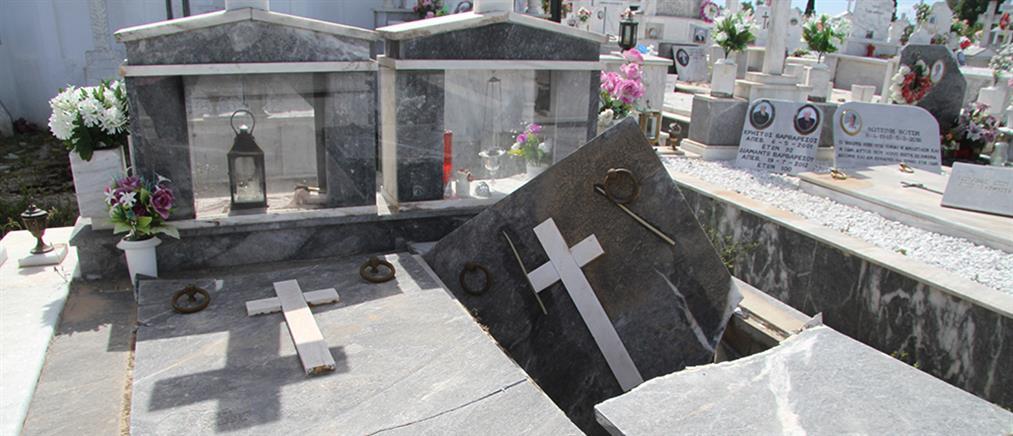 Σεισμός στην Ηλεία: άνοιξαν οι τάφοι στην Ανδραβίδα (εικόνες)