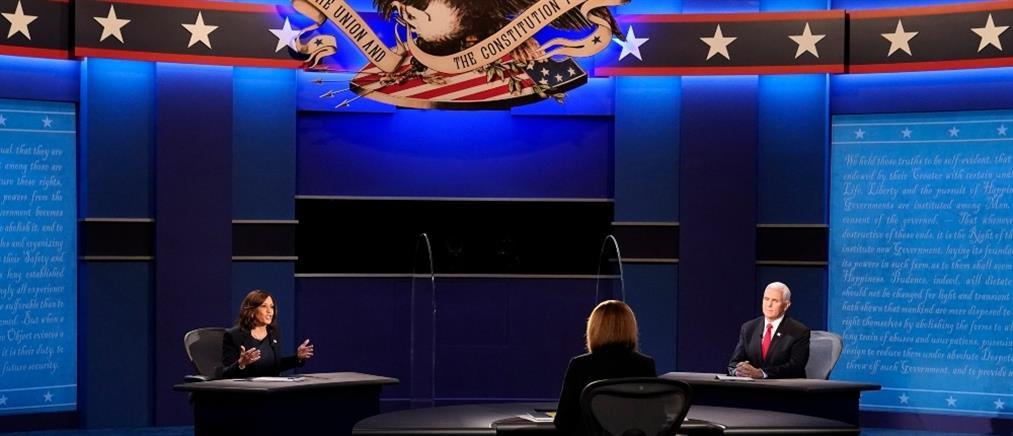 Αμερικανικές εκλογές: Το debate Πενς – Χάρις (ελληνικοί υπότιτλοι)