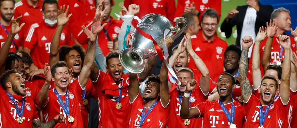 Champions League: Πρωταθλήτρια Ευρώπης η Μπάγερν