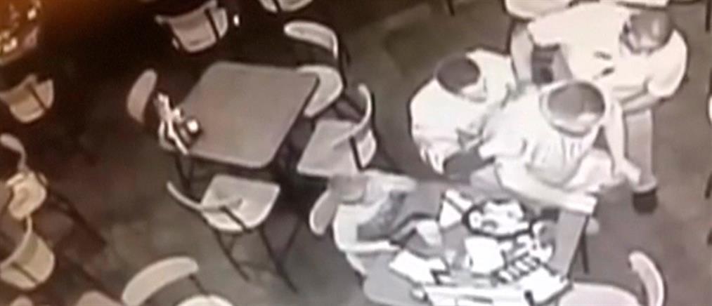 Ήρωας αστυνομικός έσωσε άνδρα που πνιγόταν με το φαγητό (βίντεο)