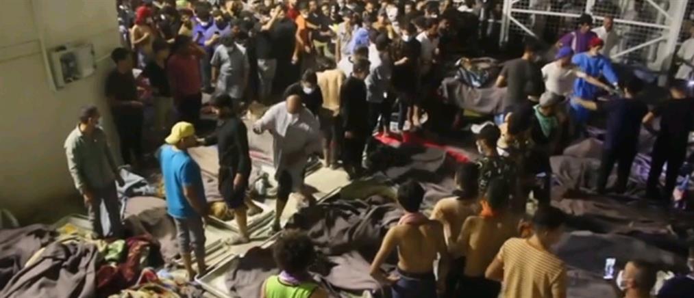 Ιράκ: Φωτιά σε νοσοκομείο με δεκάδες νεκρούς (εικόνες)
