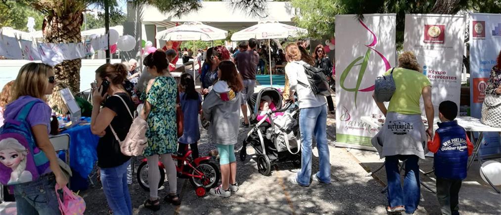 """Η """"Φαιναρέτη"""" και ο Δήμος Νέας Σμύρνης γιόρτασαν την """"Ημέρα της Μητέρας"""" (εικόνες)"""