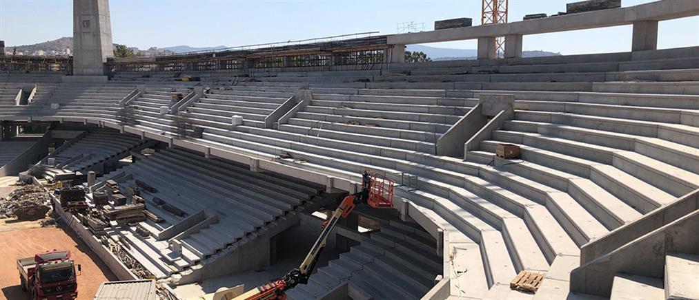 """""""Αγιά Σοφιά"""": νέες εικόνες από το γήπεδο της ΑΕΚ"""