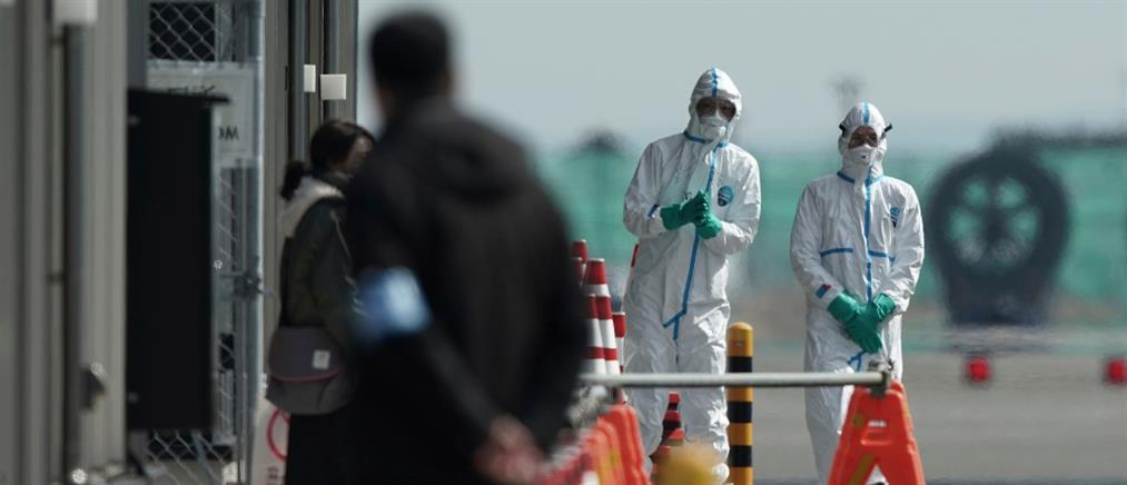 Ιαπωνία: τριπλασιάστηκαν τα κρούσματα του κορονοϊού στο κρουαζιερόπλοιο (βίντεο)