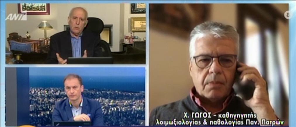 """Γώγος στον ΑΝΤ1 για κορονοϊό: διανύουμε έναν """"Μαραθώνιο"""" (βίντεο)"""