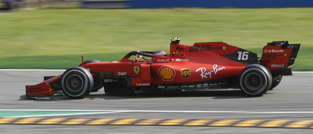 F1: Ντελίριο στη Μόντσα για την πρωτιά της Ferrari του Λεκλέρκ