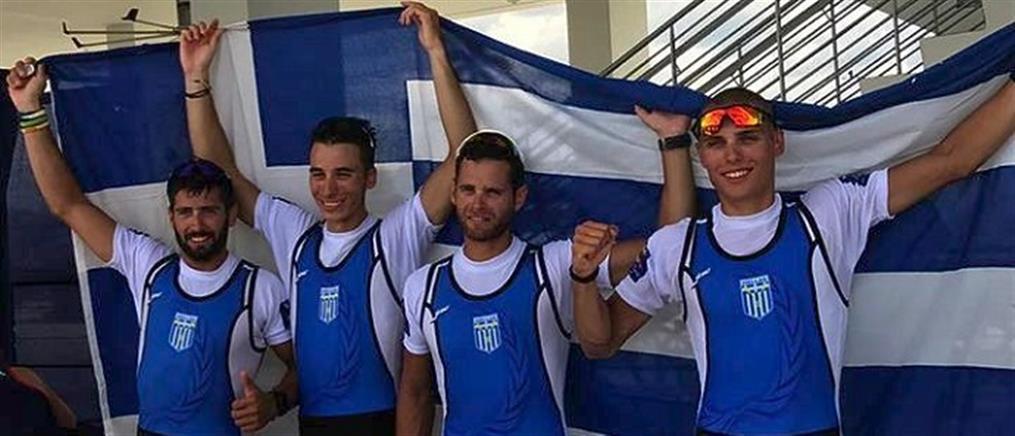 Κωπηλασία: Χάλκινο μετάλλιο για την Ελλάδα στο Παγκόσμιο Πρωτάθλημα