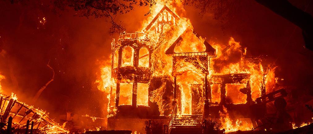 Καλιφόρνια: χωρίς έλεος οι φονικές φωτιές (εικόνες)