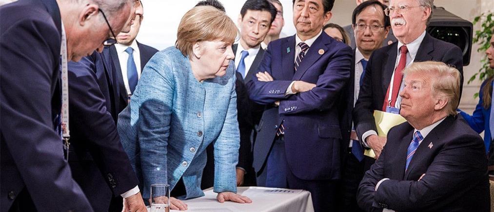 G7: ο Τραμπ μόνος του… και οι έξι απέναντι του