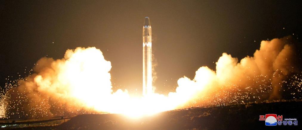Εκτόξευση νέου τύπου βαλλιστικών πυραύλων από τη Βόρεια Κορέα