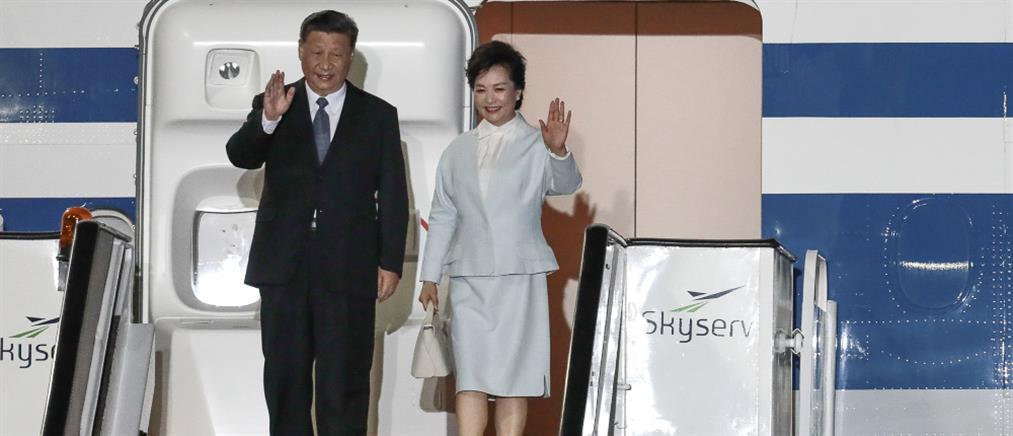 Στην Αθήνα ο Πρόεδρος της Κίνας (εικόνες)