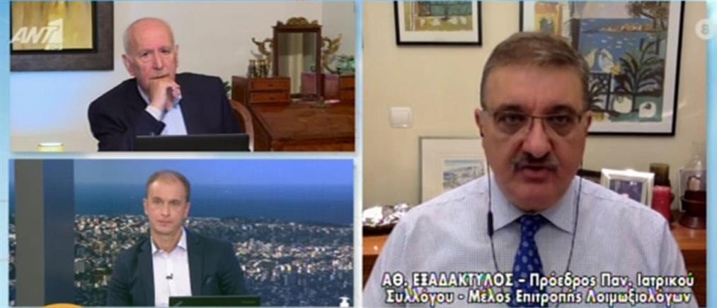 Εξαδάκτυλος στον ΑΝΤ1: τα μέτρα έχουν αρχίσει να αποδίδουν (βίντεο)
