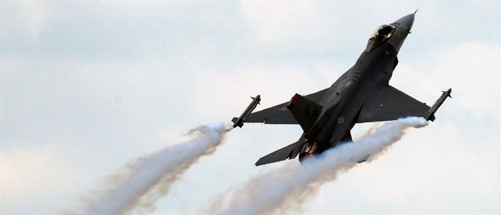 Συνετρίβη F-16 των ΗΠΑ (βίντεο)