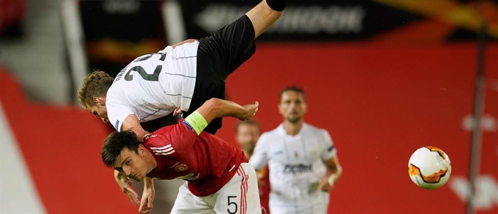 "Europa League: ""Αγγαρεία"" έκανε η Μάντσεστερ Γιουνάιτεντ"