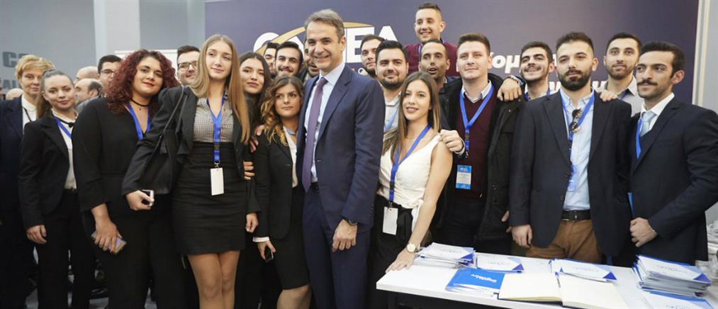 Μητσοτάκης: η μεγάλη πολιτική αλλαγή θα φέρει πίσω τους νέους που ξενιτεύτηκαν