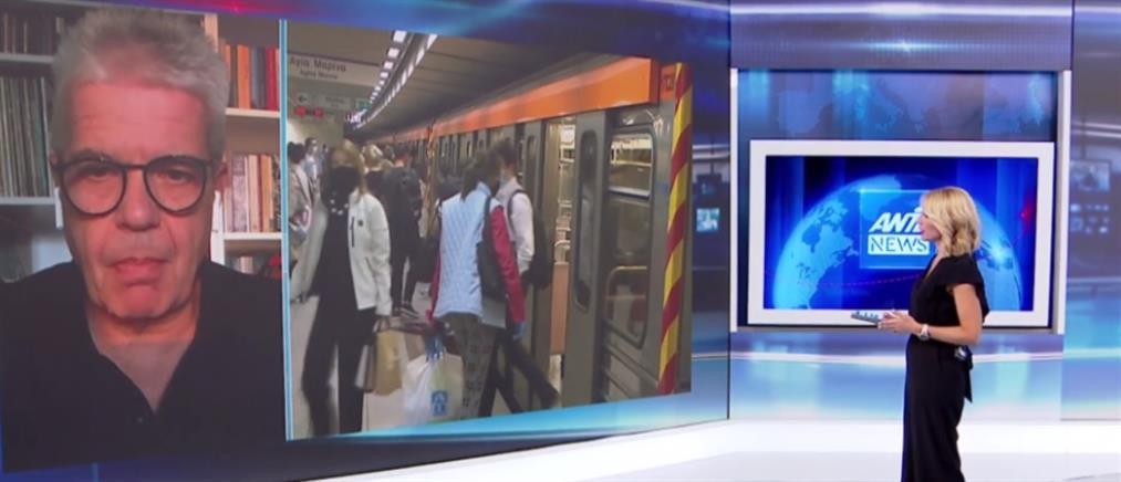 Κορονοϊός - Γώγος στον ΑΝΤ1: Ανοικτό το ενδεχόμενο για νέα έκτακτα μέτρα (βίντεο)