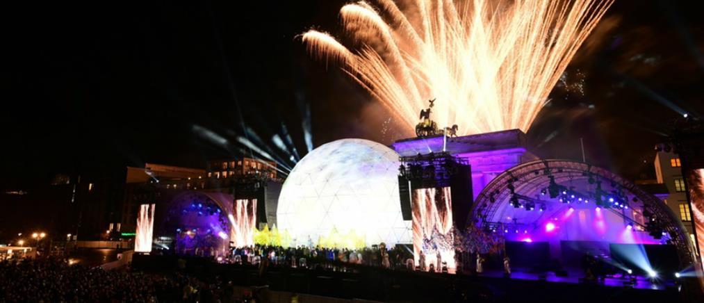Βερολίνο: εντυπωσιακά πυροτεχνήματα για την επέτειο της πτώσης του Τείχους (βίντεο)