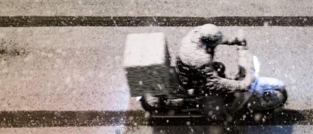 Κεφαλάς στον ΑΝΤ1: Οι διανομείς δούλεψαν με χιόνι γιατί απειλήθηκαν