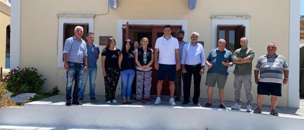 Κικίλιας από Καστελόριζο: Ενίσχυση και επιπλέον στελέχωση για το ιατρείο (εικόνες)