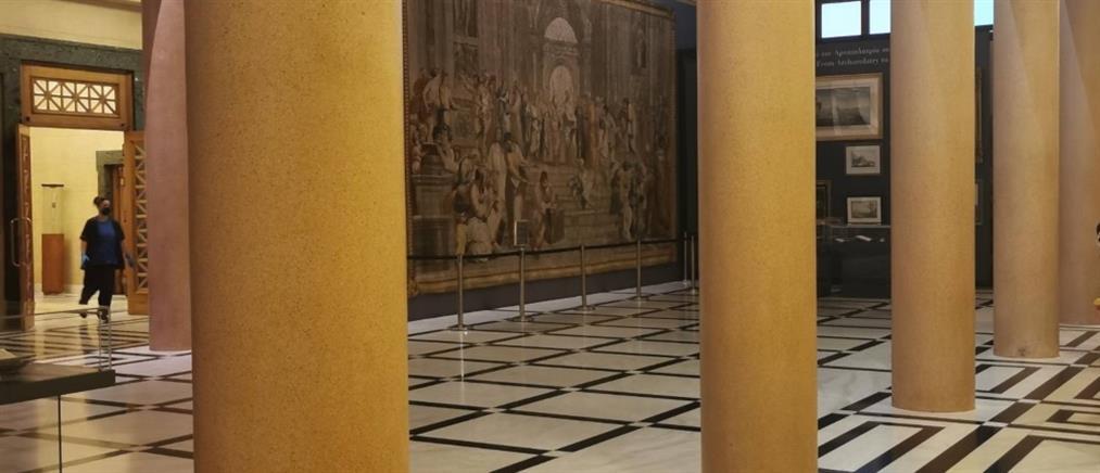 """""""Μπάλλος"""" - Βουλή: Έπεσαν μάρμαρα, μπήκαν νερά στο κτήριο (εικόνες)"""