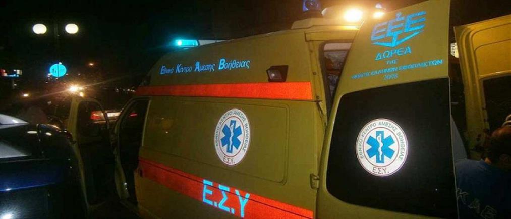 Τραγικό θάνατο βρήκε ηλικιωμένος που παρασύρθηκε διαδοχικά από δύο αυτοκίνητα