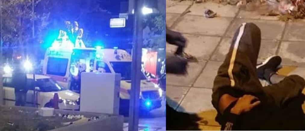 Αιματηρή συμπλοκή με μαχαιρώματα στη Θεσσαλονίκη (βίντεο)