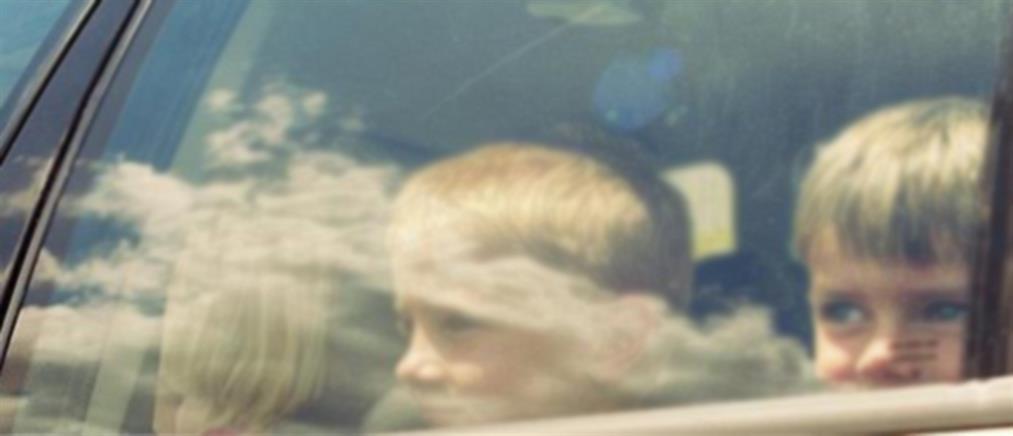 """Πήγε για ψώνια και άφησε τα παιδιά της στο αυτοκίνητο με την μηχανή """"αναμμένη"""""""