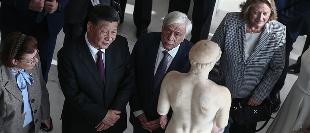 Αποτέλεσμα εικόνας για κινέζος πρόεδρος ελλάδα