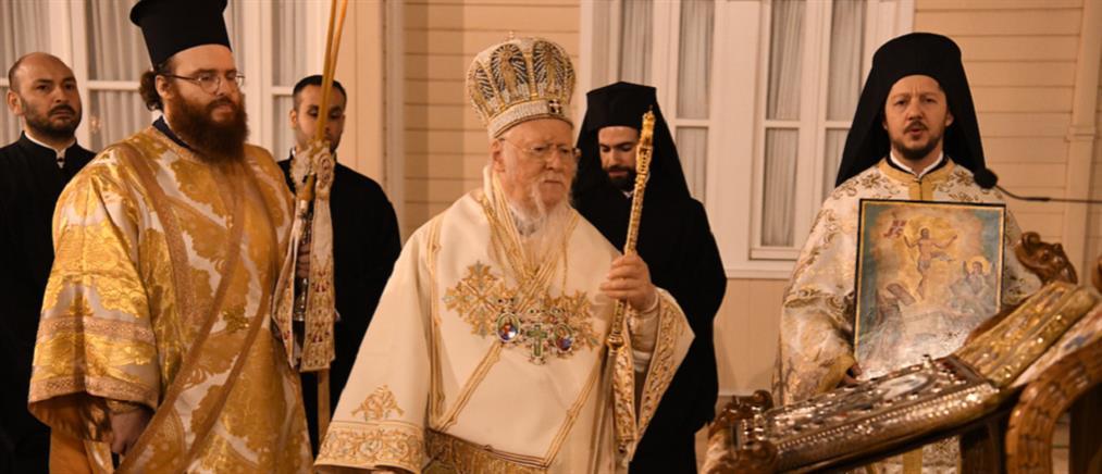 Με λαμπρότητα εορτάστηκε η Ανάσταση στο Οικουμενικό Πατριαρχείο