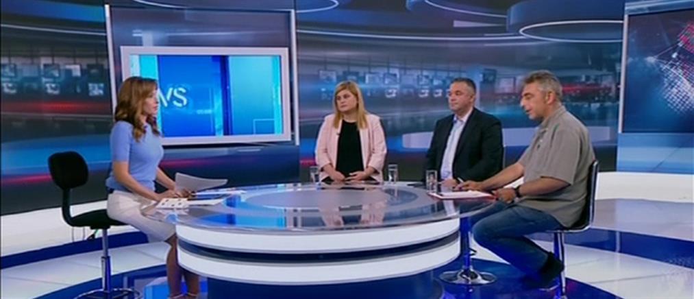 Εκλογές 2019: Χατζηγεωργίου, Χειμάρρας και Χουντής στον ΑΝΤ1 (βίντεο)