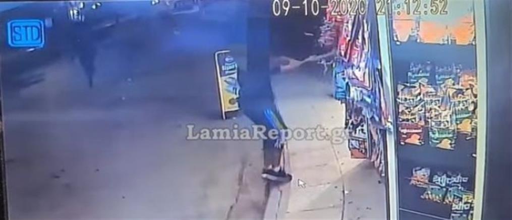 Επίθεση Ρομά σε περίπτερο και αυτοκίνητα (βίντεο ντοκουμέντο)