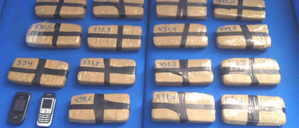 Οκτώ κιλά ηρωίνης βρέθηκαν σε σπίτι στο Μενίδι