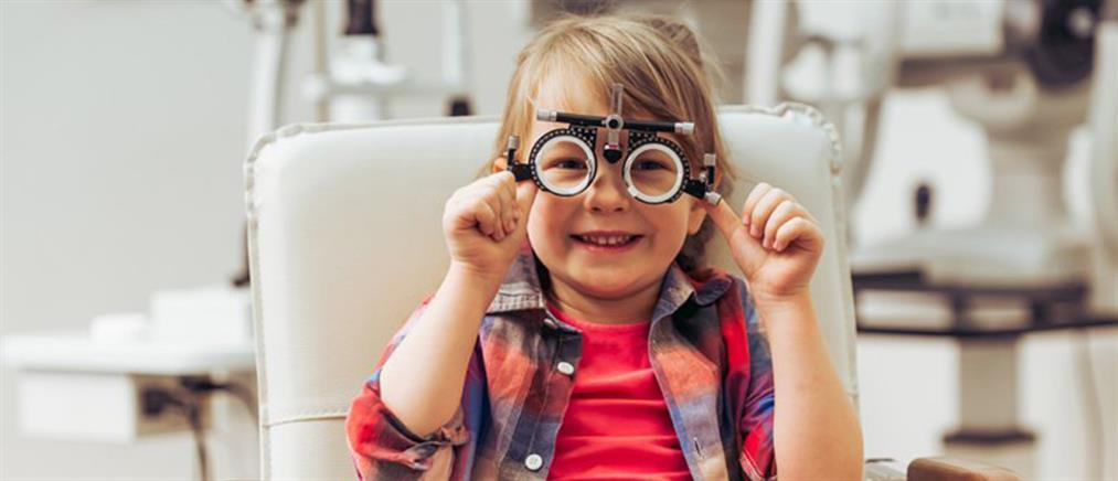 Γιατί είναι απαραίτητος ο οφθαλμολογικός έλεγχος στα παιδιά πριν αρχίσει το σχολείο
