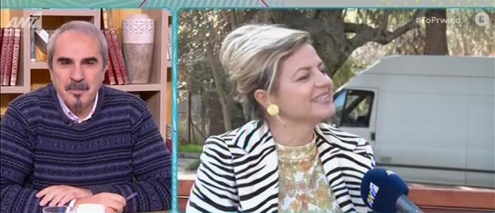"""Η Ορνέλα Λούτη για τις """"Άγριες Μέλισσες"""" και την… Ορνέλα Μούτι (βίντεο)"""