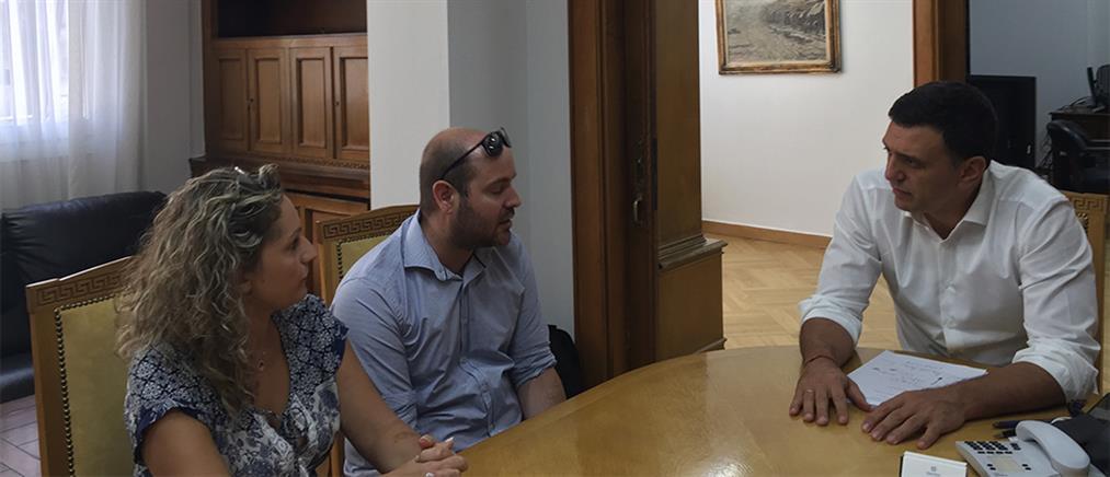 Συνάντηση Κικίλια με τους γονείς του μικρού Παναγιώτη Ραφαήλ