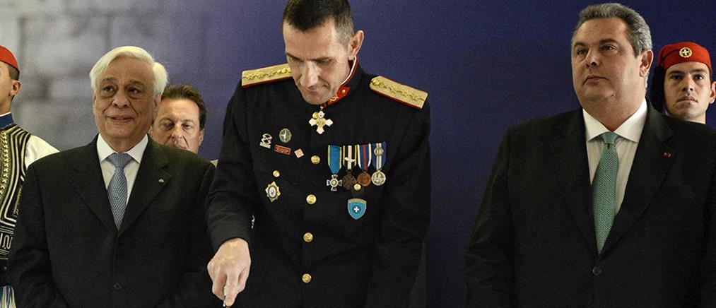 Κοπή πρωτοχρονιάτικης πίτας στην Προεδρική Φρουρά