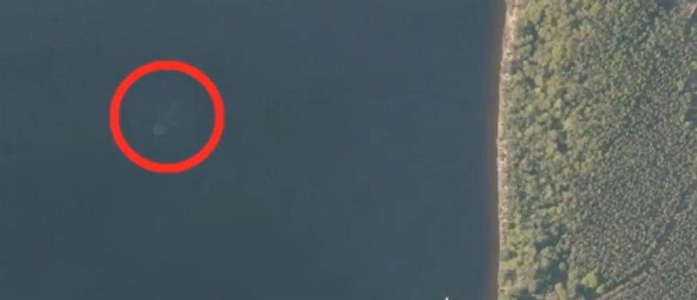 Πως είδε το τέρας του Λοχ Νες ο δορυφόρος