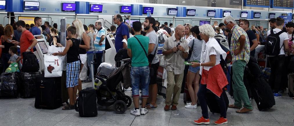 """""""Απογειώθηκε"""" η επιβατική κίνηση στα ελληνικά αεροδρόμια"""