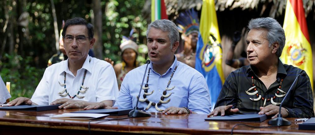 Αμαζόνιος: συμφωνία επτά χωρών για την προστασία του τροπικού δάσους