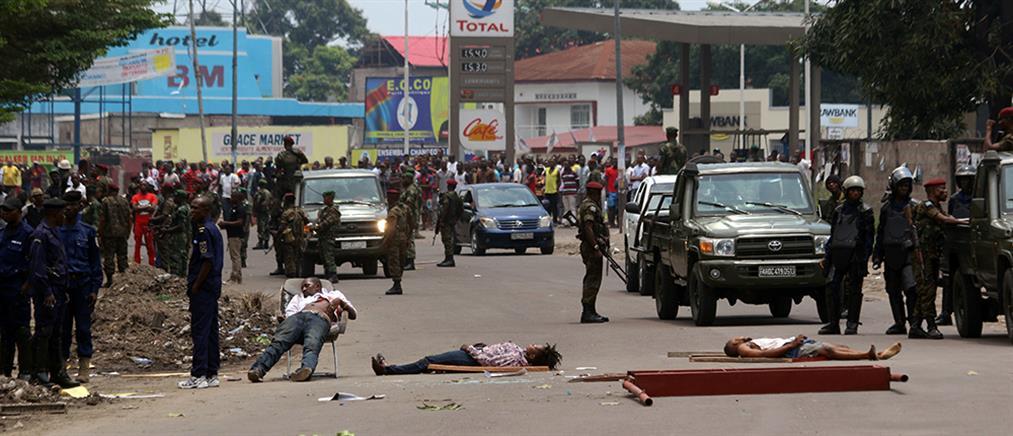 Φονικές συγκρούσεις μεταξύ αστυνομικών-διαδηλώτών στο Κονγκό (βίντεο)