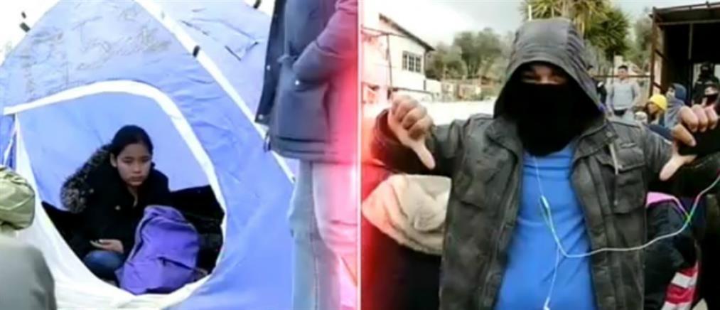 """""""Καζάνι που βράζει"""" εξακολουθεί να θυμίζει η Λέσβος (βίντεο)"""