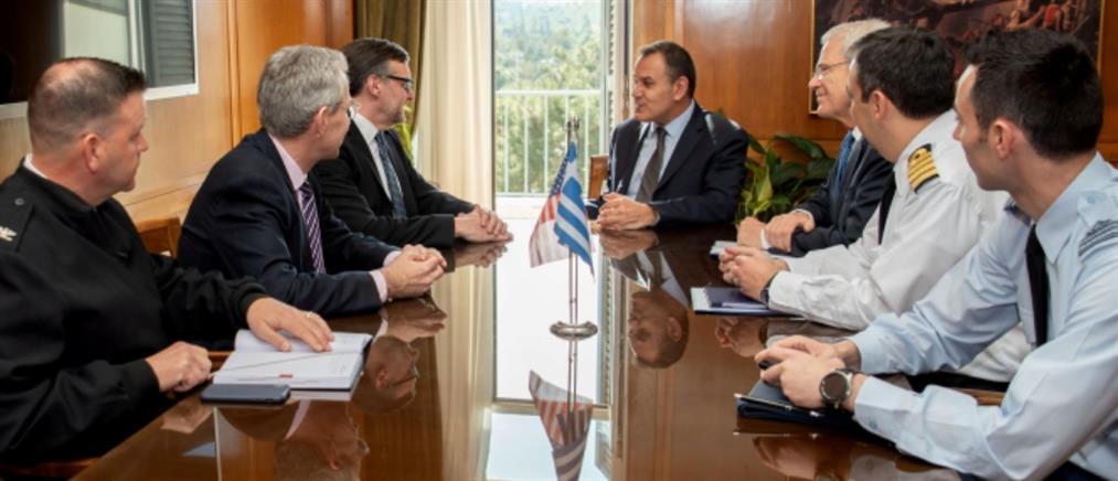 Παναγιωτόπουλος σε Πάλμερ: υβριδική απειλή εναντίον της Ελλάδας με υποκίνηση της Τουρκίας