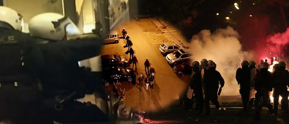 Εξάρχεια: Τραυματίες αστυνομικοί μετά από επίθεση με μολότοφ