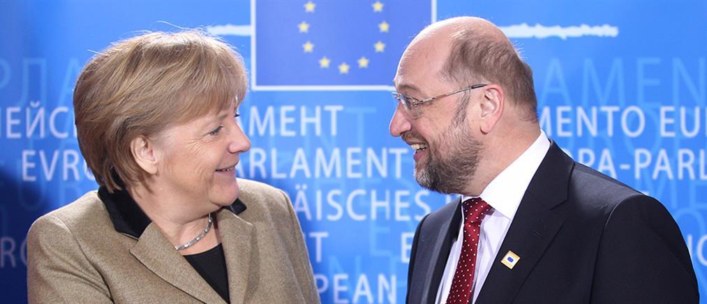 """""""Ναι"""" του SPD για κυβερνητικό συνασπισμό με την Μέρκελ"""